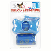 OUT! Bone Dispenser & Waste Pick-Up Bags