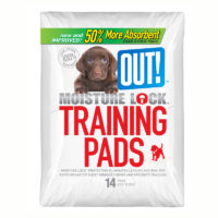 OUT! Moisture Lock Training Pads 14 Pad Pack