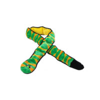 Outward Hound Invincible Snake with 3 Squeaks Dog Toy 55 cm