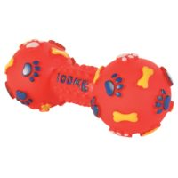 Trixie Dumbbell Vinyl Dog Toy Small