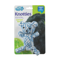 Pet Brands Knotty Teady Bear Plush Dog Toy