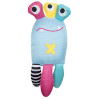 Pet Brands Monster Dizzy Tuff Squeaky Dog Toy