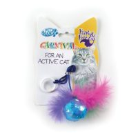 Pet Brands Carnival Ball & Feather Cat Toy