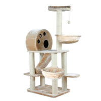Trixie Allora Scratching Post with Toy for Cats