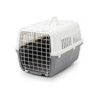 Savic Zephos Closed Pet Carrier Gray