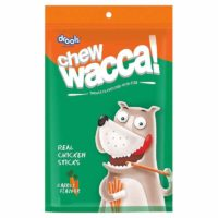 Drools ChewWacca Carrot Flavour Chicken Sticks Dog Treats