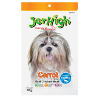 JerHigh Carrot Stick Real Chicken Meat Dog Treats