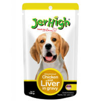 JerHigh Chicken & Liver In Gravy Wet Dog Food