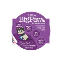 Little BigPaw Gourmet Tender Duck Mousse For Cats