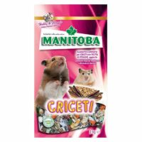 Manitoba Criceti with Fruits & Carrots Complete Feed For Hamsters