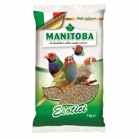Manitoba Esotici Mixture For Tropical Finches Birds, 1kg