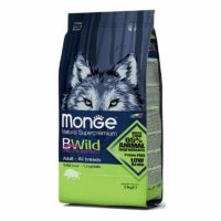 Monge BWild All Breeds Adult With Wild Boar Dry Dog Food