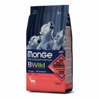 Monge BWild All Breeds Puppy & Junior With Wild Deer Dry Dog Food
