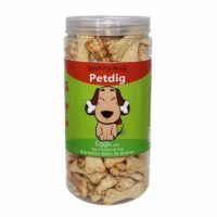 Petdig Eggs with Flaxseed & Milk Dog Biscuit