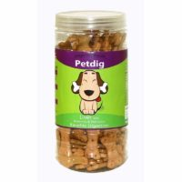 Petdig Liver with Brown Rice & Carrot Dog Biscuits