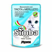 Simba Chunkies with Trout and Cod Fish Wet Cat Food