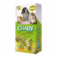 Versele-Laga Crispy Crunchies Hay & Carrot Biscuits for Rabbits & Rodents