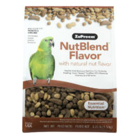ZuPreem NutBlend with Natural Nut Flavors Parrot & Conure Bird Food