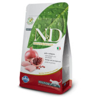 Farmina-N&D Grain Free Chicken & Pomegranate Adult Cat Food