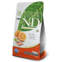 Farmina-N&D Grain Free Fish & Orange Adult Cat Food