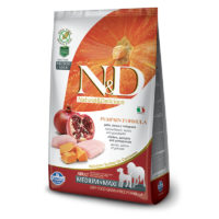 Farmina-N&D Pumpkin Grain Free Chicken and Pomegranate Adult Medium & Maxi Dog Food