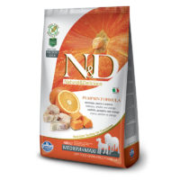 Farmina-N&D Pumpkin Grain Free Codfish & Orange Adult Medium & Maxi Dog Food