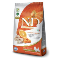 Farmina-N&D Pumpkin Grain Free Codfish & Orange Adult Mini Dog Food