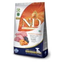 Farmina-N&D Pumpkin Grain Free Lamb & Blueberry Puppy Mini Dog Food
