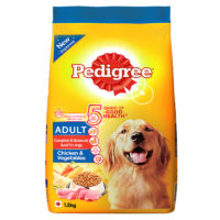 Pedigree Adult Chicken & Vegetables Dry Dog Food
