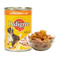 Pedigree Adult Chicken in Jelly Wet Dog Food Can