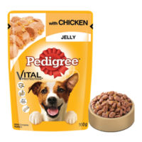 Pedigree Adult Chicken in Jelly Wet Dog Food Pouch