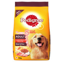 Pedigree Adult Meat & Rice Dry Dog Food