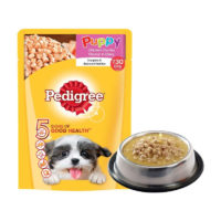 Pedigree Puppy Chicken Chunks in Gravy Wet Dog Food Pouch