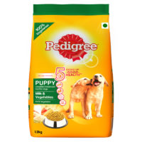 Pedigree Puppy Milk & Vegetable Dry Dog Food