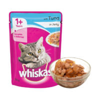 Whiskas Adult Tuna in Jelly Wet Cat Food Pouch
