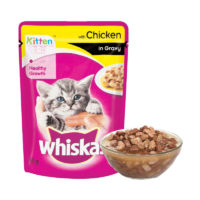 Whiskas Kitten Chicken in Gravy Wet Cat Food Pouch