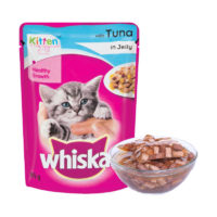 Whiskas Kitten Tuna in Jelly Wet Cat Food Pouch