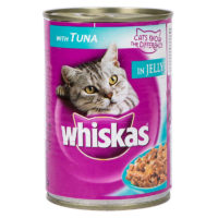 Whiskas Tuna in Jelly Wet Cat Food Can