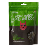 Chomp Dry Chicken Jerky With Kiwi Dog Treats