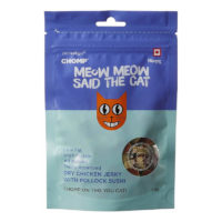 Chomp Dry Chicken Jerky with Pollock Sushi Cat Treats