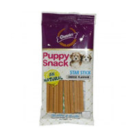 Gnawlers Puppy Snack Star Stick Cheese Flavour Dog Treats