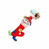 Pawsie Vivid Life Monkey Stick Puppy Toy