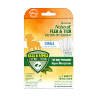 Tropiclean Natural Flea & Tick Dog Spot On Treatment 3pk